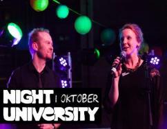 Simone Vos bij Night University 2014