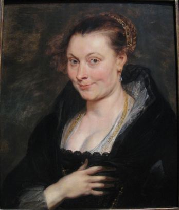 Peter Paul Rubens, Portret van Isabella Brant, ca. 1620-1625, olieverf op paneel, 53 x 46 cm Cleveland, The Cleveland Museum of Art, inv.nr. 1947.207