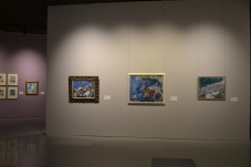 Overzichtsfoto tentoonstelling Chagall